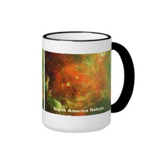 North America Nebula Coffee Mugs