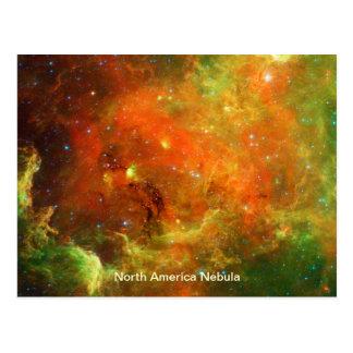 North America Nebula Postcard