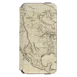 North America outline map Incipio Watson™ iPhone 6 Wallet Case