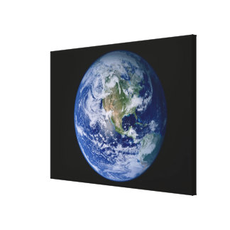 North America Seen from Space 2 Gallery Wrapped Canvas
