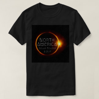 North America Solar Eclipse T-Shirt