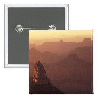 North America, U.S.A., Arizona, Grand Canyon, 15 Cm Square Badge