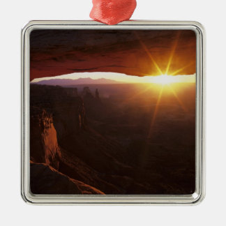 North America, U.S.A., Utah, Canyonlands Metal Ornament