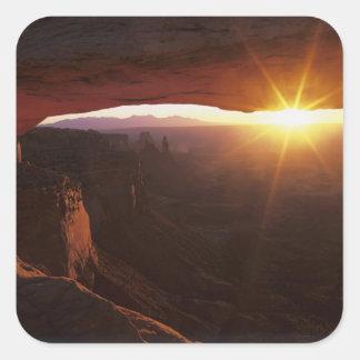 North America, U.S.A., Utah, Canyonlands Square Sticker
