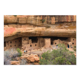 North America, USA, Colorado. Cliff dwellings Photographic Print