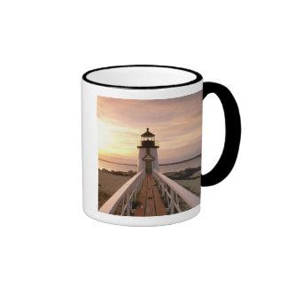 North America, USA, Massachusetts, Nantucket 4 Ringer Mug
