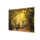 North America, USA, New York, New York City. 6 Gallery Wrap Canvas
