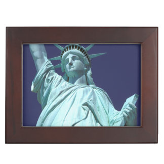North America, USA, New York, New York City. 7 Memory Boxes