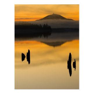 North America, USA, WA, Olympic National Park. Postcard