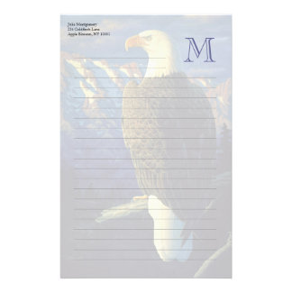 North American Bald Eagle Personalized Stationery