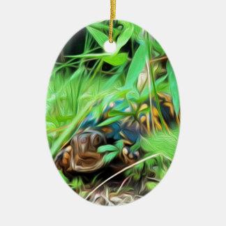 North American Box Turtle Ornament