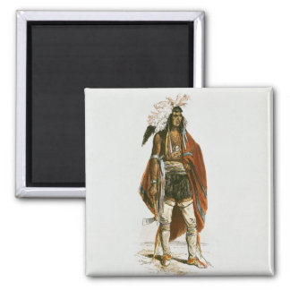 North American Indian Magnet