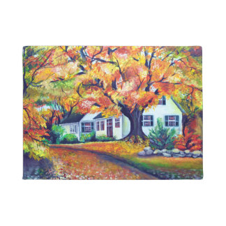 North American Mesmerizing Fall Landscape Doormat
