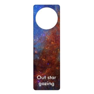 North American Nebula Door Hanger