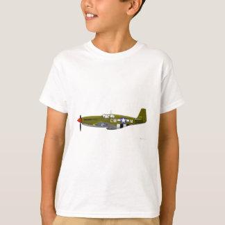 North American P-51B Mustang T-Shirt