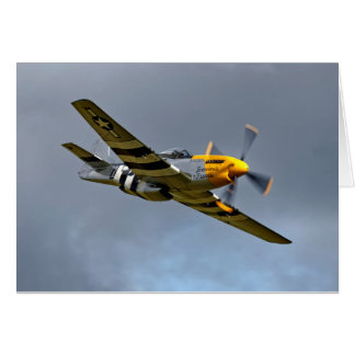 North American P-51D Mustang 'Ferocious Frankie' Card