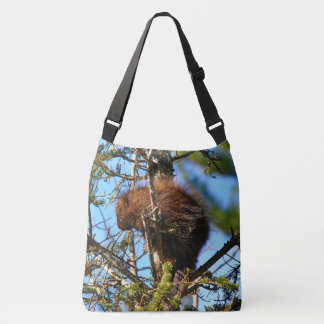 North American Porcupine Crossbody Bag