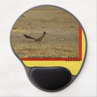 North American Roadrunner Gel Mousepad