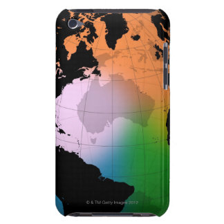 North Atlantic Ocean Current Map iPod Touch Covers