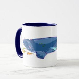 """North Atlantic Right Whale"" 11oz Combo Mug"