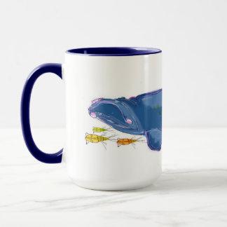 """North Atlantic Right Whale"" 15oz Combo Mug"