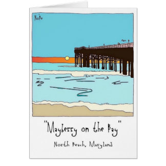 North Beach, Maryland Card