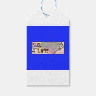 """North Carolina 4 Life"" State Map Pride Design"