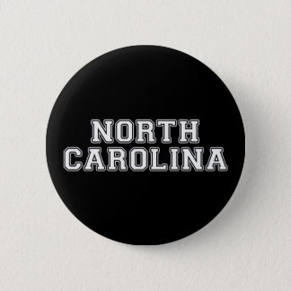North Carolina 6 Cm Round Badge