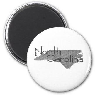 North Carolina 6 Cm Round Magnet