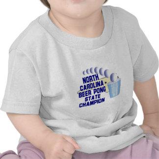 North Carolina Beer Pong Champion T-shirt