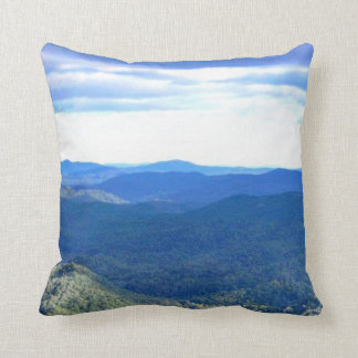 NORTH CAROLINA BLUE RIDGE MOUNTAINS pillow