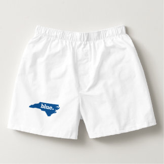 NORTH CAROLINA BLUE STATE BOXERS