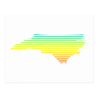 north carolina chill fade postcard