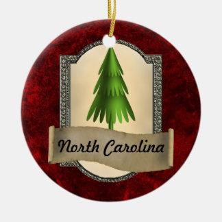 North Carolina Christmas Ornament