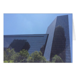 North Carolina Cityscape Greeting Card