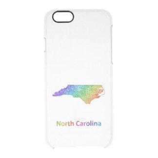 North Carolina Clear iPhone 6/6S Case