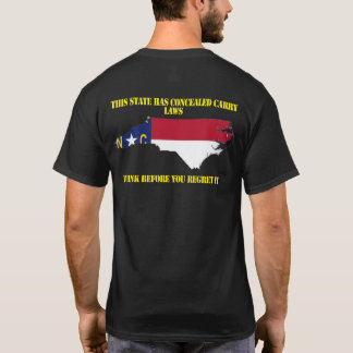 North Carolina Concealed Carry Shirt