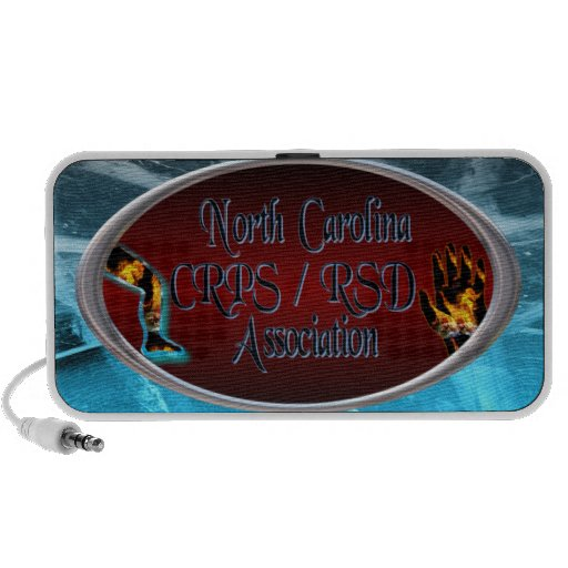 North Carolina CRPS / RSDAssociation Logo On Ice Mp3 Speaker