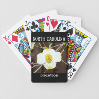 North Carolina Dogwood Bicycle Playing Cards