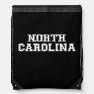 North Carolina Drawstring Bag