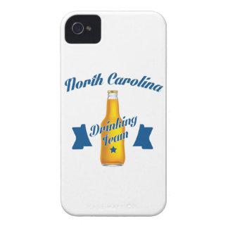 North Carolina Drinking team iPhone 4 Case-Mate Case