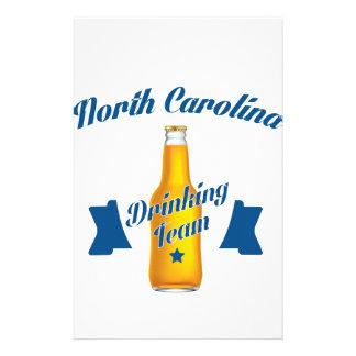North Carolina Drinking team Stationery