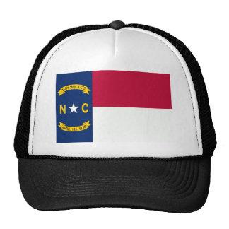 North Carolina Flag Mesh Hat