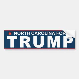 North Carolina for Trump 2016 Bumper Sticker