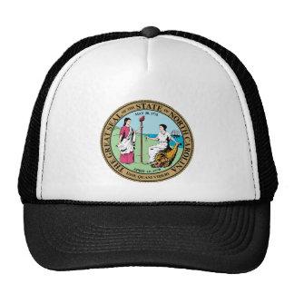 North Carolina Great Seal Mesh Hat