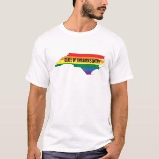 North Carolina HB2 Embarrassment men's white T-Shirt