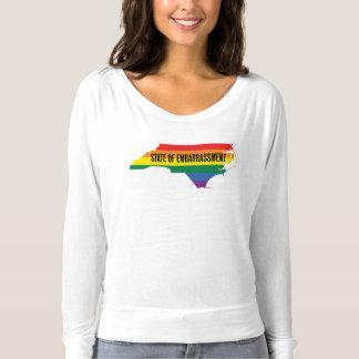 North Carolina HB2 Embarrassment women's T-Shirt