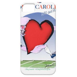north carolina head heart, tony fernandes barely there iPhone 5 case