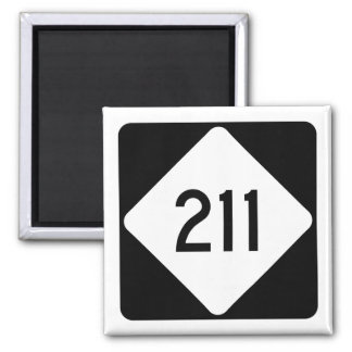 North Carolina Highway 211 Magnet
