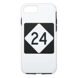 North Carolina Highway 24 iPhone 7 Case